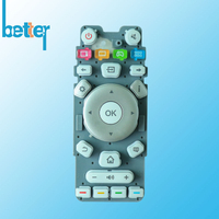 TV Controller Silicone Keyboard