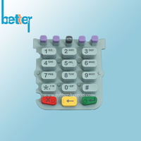 Laser Mark Backlight Rubber Silicone Keypad