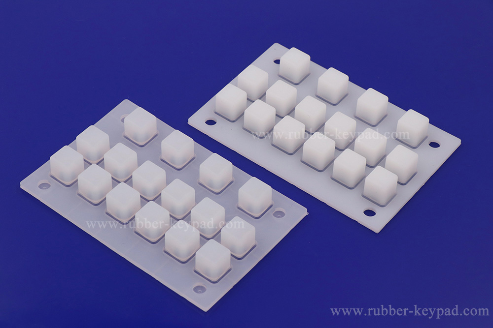 clear silicone rubber keyboard