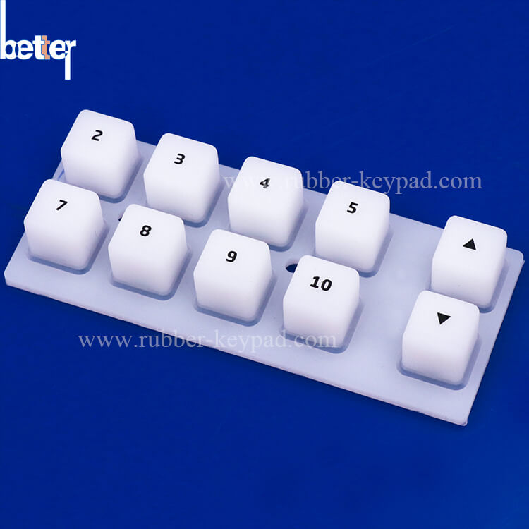 Oil Coating Silicone Keypad