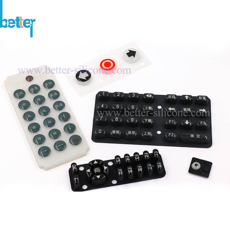 Silicone Rubber Epoxy Coating Keypad